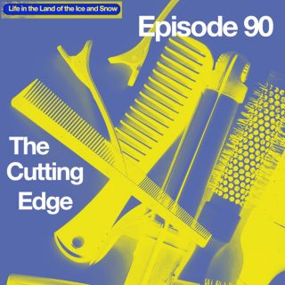 image shows haircutting tools
